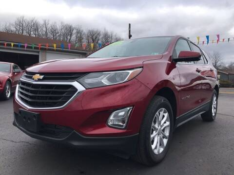 2018 Chevrolet Equinox for sale at Baker Auto Sales in Northumberland PA
