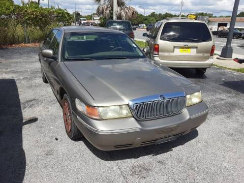 2002 Mercury Grand Marquis for sale at Easy Credit Auto Sales in Cocoa FL