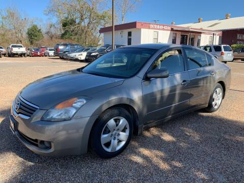 2008 Nissan Altima for sale at M & M Motors in Angleton TX