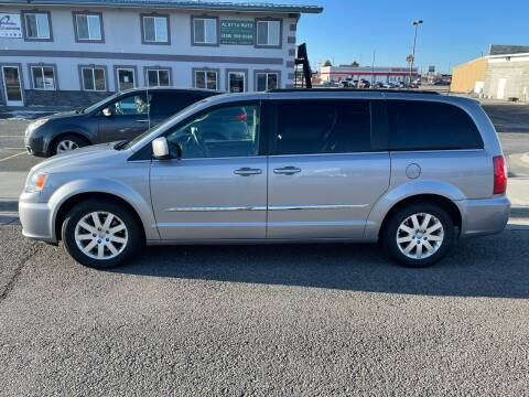 2016 Chrysler Town and Country for sale at ALOTTA AUTO in Rexburg ID