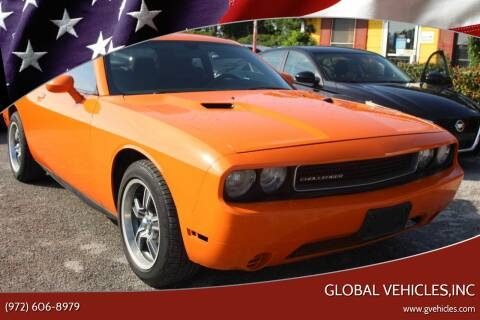 2012 Dodge Challenger for sale at Global Vehicles,Inc in Irving TX