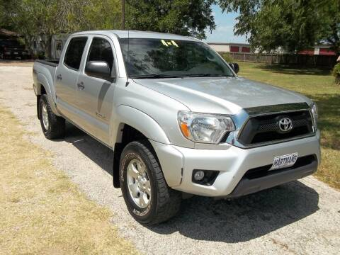 2012 Toyota Tacoma for sale at Hartman's Auto Sales in Victoria TX