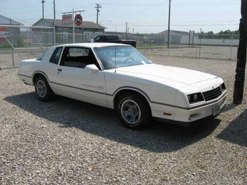 1986 Chevrolet Monte Carlo for sale at Haggle Me Classics in Hobart IN