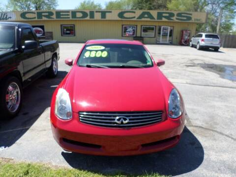 2005 Infiniti G35 for sale at Credit Cars of NWA in Bentonville AR