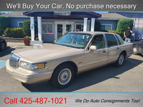 1997 Lincoln Town Car for sale at Platinum Autos in Woodinville WA