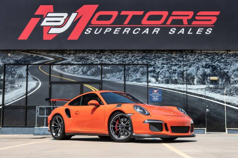 2016 Porsche 911 for sale at BJ Motors in Tomball TX