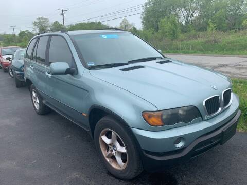 2003 BMW X5 for sale at Trocci's Auto Sales in West Pittsburg PA
