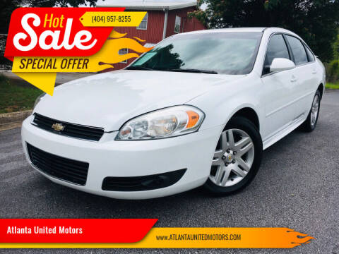 2011 Chevrolet Impala for sale at Atlanta United Motors in Buford GA