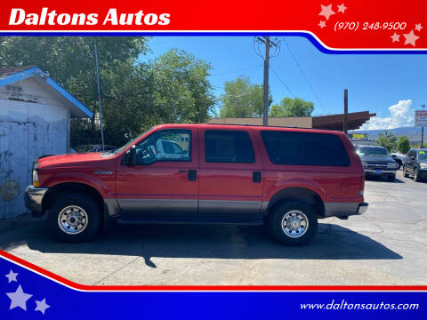 2003 Ford Excursion for sale at Daltons Autos in Grand Junction CO