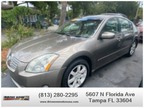 2006 Nissan Maxima for sale at Drive Now Motors USA in Tampa FL