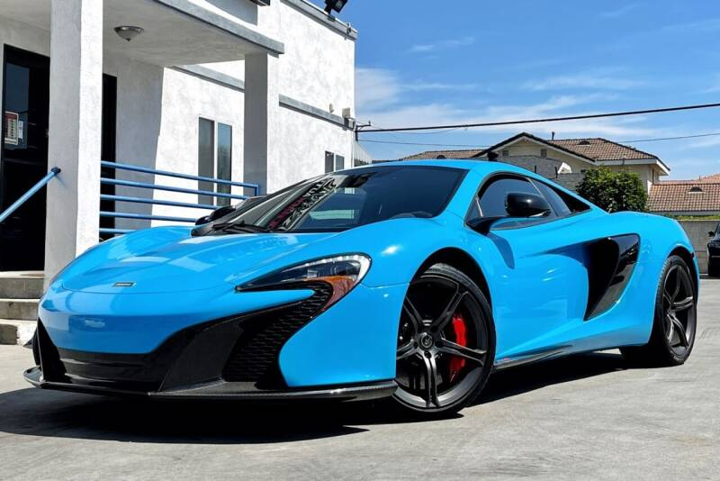 2015 McLaren 650S Coupe for sale at Fastrack Auto Inc in Rosemead CA