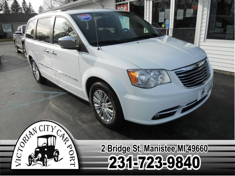 2014 Chrysler Town and Country for sale at Victorian City Car Port INC in Manistee MI