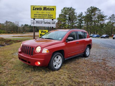2008 Jeep Compass for sale at Lewis Motors LLC in Deridder LA