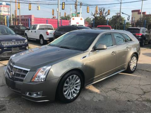2011 Cadillac CTS for sale at SKYLINE AUTO in Detroit MI