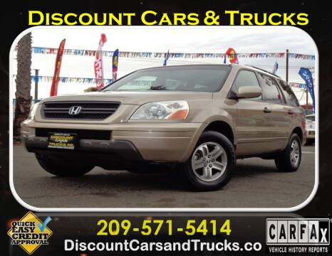 2005 Honda Pilot for sale at Discount Cars & Trucks in Modesto CA