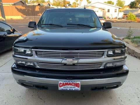 2004 Chevrolet Suburban for sale at Aria Auto Sales in El Cajon CA