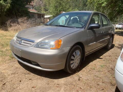 2003 Honda Civic for sale at Harpers Auto Sales in Kettle Falls WA