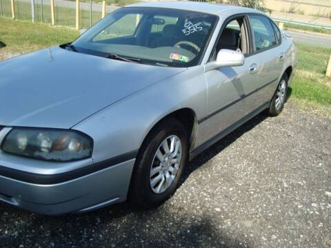 2001 Chevrolet Impala for sale at Branch Avenue Auto Auction in Clinton MD