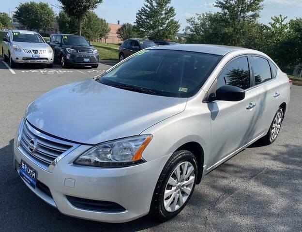 2015 Nissan Sentra for sale at SOUTH AMERICA MOTORS in Sterling VA