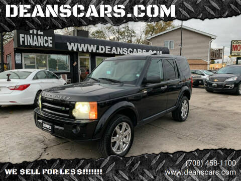 2009 Land Rover LR3 for sale at DEANSCARS.COM in Bridgeview IL