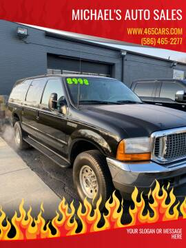 2000 Ford Excursion for sale at MICHAEL'S AUTO SALES in Mount Clemens MI