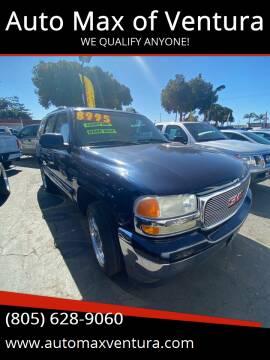 2006 GMC Yukon for sale at Auto Max of Ventura in Ventura CA