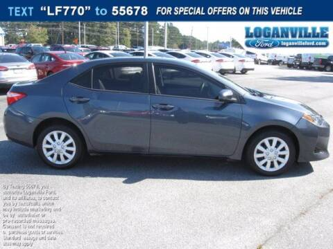 2018 Toyota Corolla for sale at Loganville Quick Lane and Tire Center in Loganville GA
