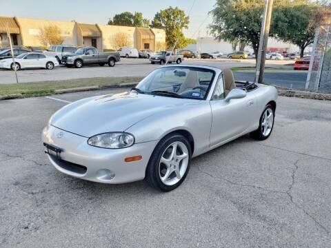 2001 Mazda MX-5 Miata for sale at DFW Autohaus in Dallas TX