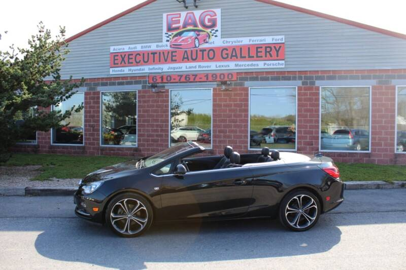 2016 Buick Cascada for sale at EXECUTIVE AUTO GALLERY INC in Walnutport PA