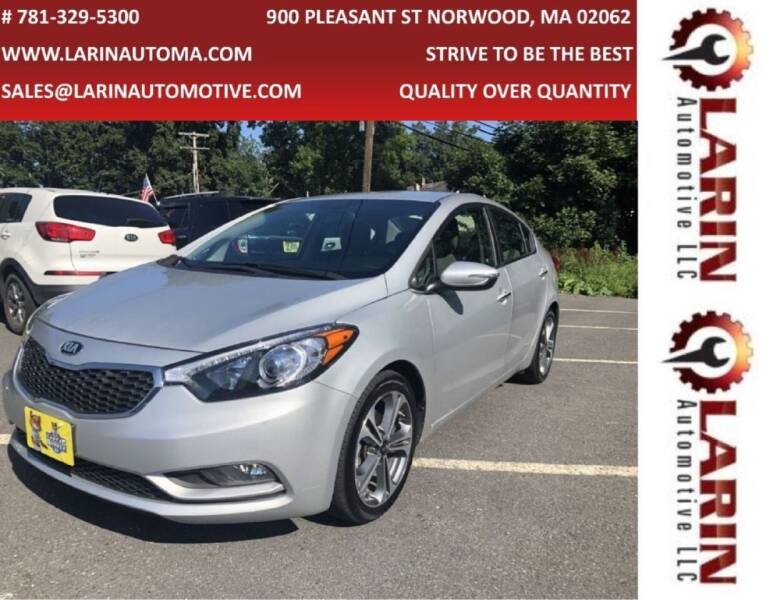 2016 Kia Forte for sale at LARIN AUTO in Norwood MA