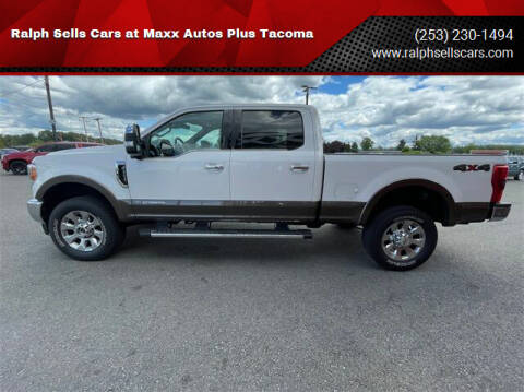 2017 Ford F-350 Super Duty for sale at Ralph Sells Cars at Maxx Autos Plus Tacoma in Tacoma WA