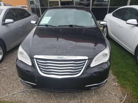 2012 Chrysler 200 for sale at Fansy Cars in Mount Morris MI
