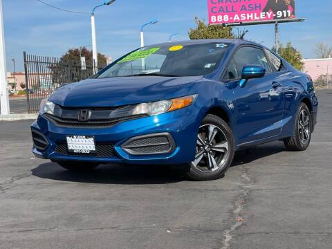 2015 Honda Civic for sale at LUGO AUTO GROUP in Sacramento CA