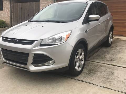 2015 Ford Escape for sale at Texas Luxury Auto in Houston TX