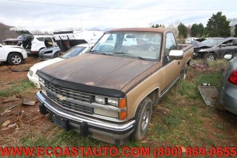 1988 Chevrolet C/K 1500 Series for sale at East Coast Auto Source Inc. in Bedford VA