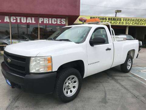 2007 Chevrolet Silverado 1500 for sale at Sanmiguel Motors in South Gate CA