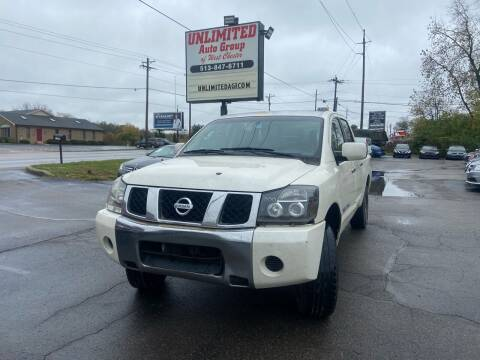 2008 Nissan Titan for sale at Unlimited Auto Group in West Chester OH