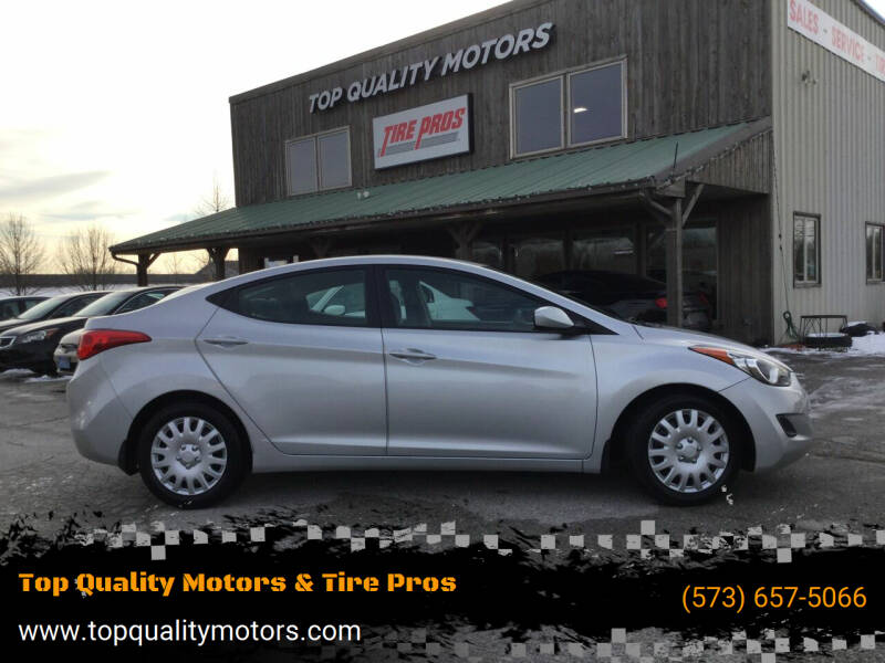 2013 Hyundai Elantra for sale at Top Quality Motors & Tire Pros in Ashland MO