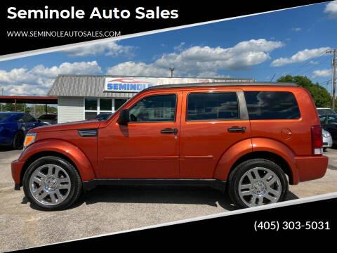 2008 Dodge Nitro for sale at Seminole Auto Sales in Seminole OK