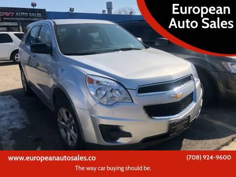 2015 Chevrolet Equinox for sale at European Auto Sales in Bridgeview IL