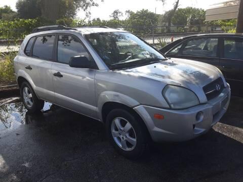 2005 Hyundai Tucson for sale at Easy Credit Auto Sales in Cocoa FL