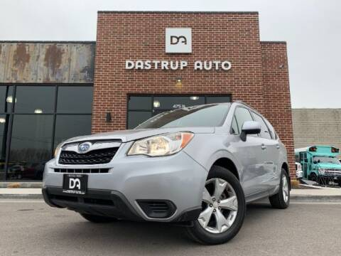 2015 Subaru Forester for sale at Dastrup Auto in Lindon UT