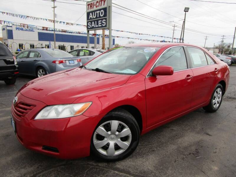 2009 Toyota Camry for sale at TRI CITY AUTO SALES LLC in Menasha WI