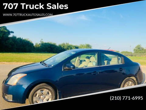 2007 Nissan Sentra for sale at 707 Truck Sales in San Antonio TX