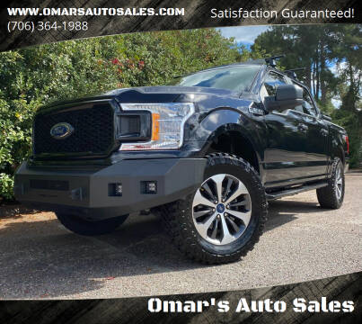 2019 Ford F-150 for sale at Omar's Auto Sales in Martinez GA