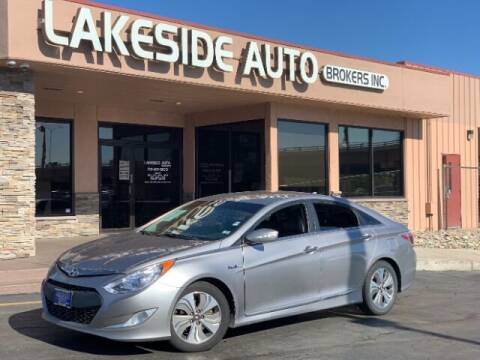 2013 Hyundai Sonata Hybrid for sale at Lakeside Auto Brokers in Colorado Springs CO