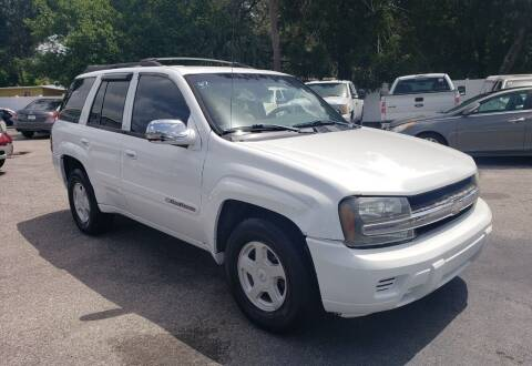 2002 Chevrolet TrailBlazer for sale at Linus International Inc in Tampa FL