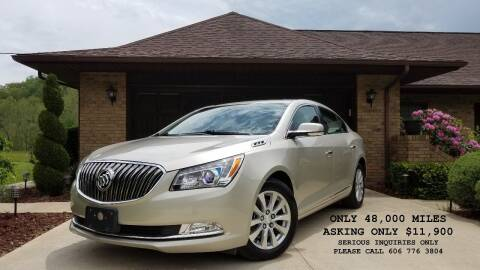 2015 Buick LaCrosse for sale at Atkins Auto Sales in Sandy Hook KY