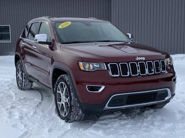 2020 Jeep Grand Cherokee for sale at Bankruptcy Auto Loans Now - powered by Semaj in Brighton MI