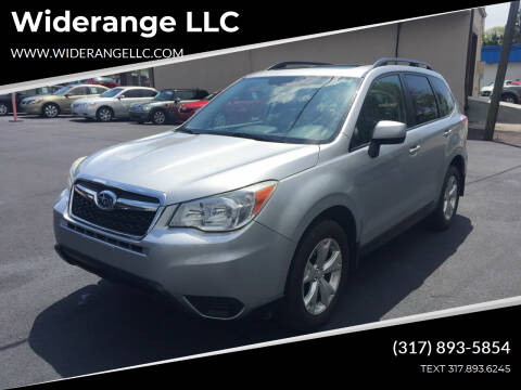 2014 Subaru Forester for sale at Widerange LLC in Greenwood IN